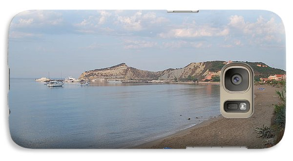 Galaxy Case featuring the photograph Calm Sea by George Katechis
