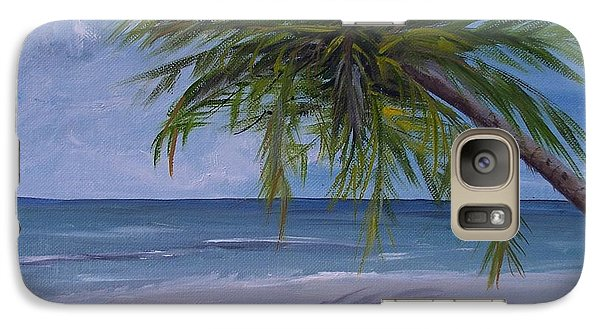 Galaxy Case featuring the painting Calm Waters by Debbie Baker