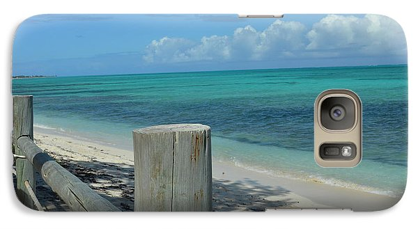 Galaxy Case featuring the photograph Calming Waters by Judy Wolinsky