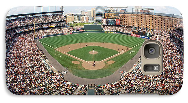 Oriole Galaxy S7 Case - Camden Yards Baltimore Md by Panoramic Images