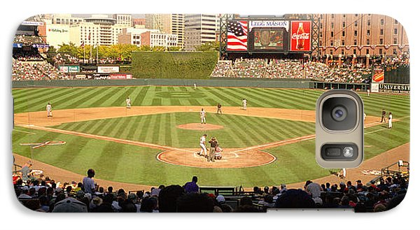 Oriole Galaxy S7 Case - Camden Yards Baseball Game Baltimore by Panoramic Images