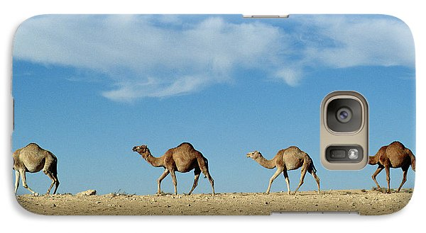Camel Train Galaxy S7 Case