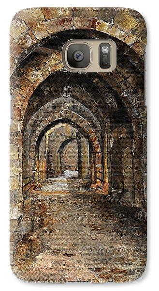 Realistic Galaxy S7 Case - Camelot -  The Way To Ancient Times - Elena Yakubovich by Elena Yakubovich