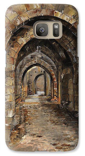 Castle Galaxy S7 Case - Camelot -  The Way To Ancient Times - Elena Yakubovich by Elena Yakubovich