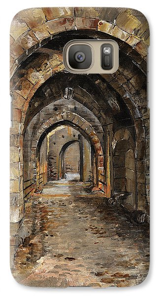 Camelot -  The Way To Ancient Times - Elena Yakubovich Galaxy S7 Case by Elena Yakubovich