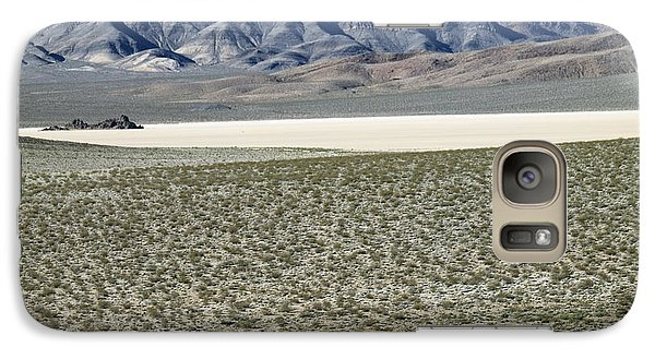 Galaxy Case featuring the photograph Camped At The End Of The Road by Joe Schofield