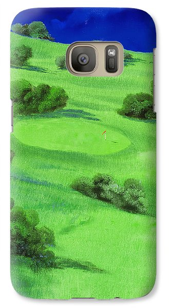 Campo Da Golf Di Notte Galaxy S7 Case