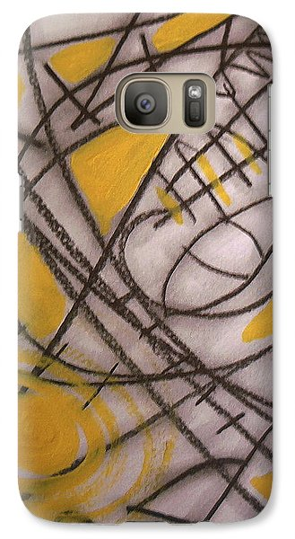 Galaxy Case featuring the painting Camulot 2 by Clarity Artists