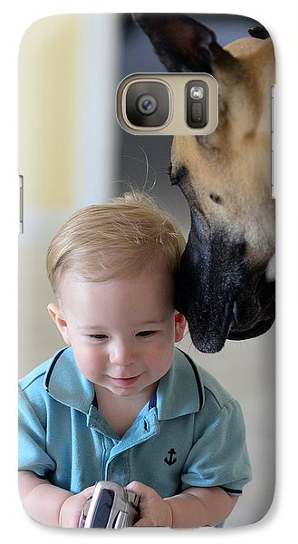 Galaxy Case featuring the photograph Can You Hear Me Now by Lisa Phillips