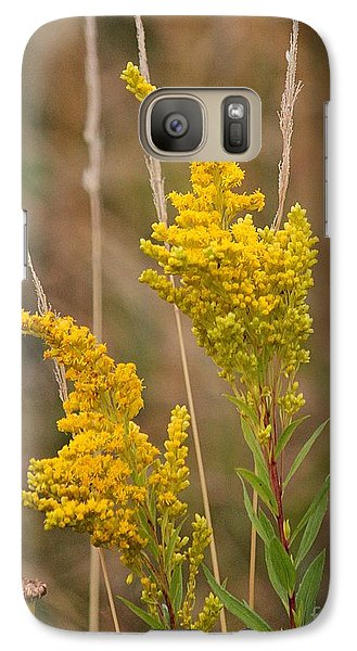 Galaxy Case featuring the photograph Canada Goldenrod by Erica Hanel