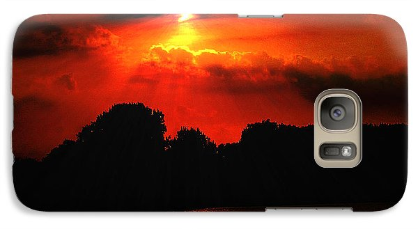 Galaxy Case featuring the photograph Canadian Sunrise by Michael Rucker