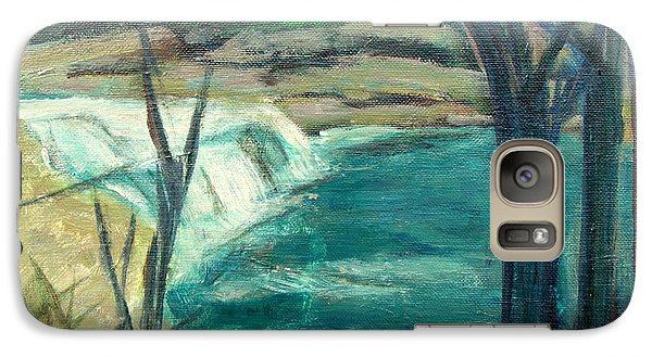 Galaxy Case featuring the painting Canajoharie Creek Near Village by Betty Pieper