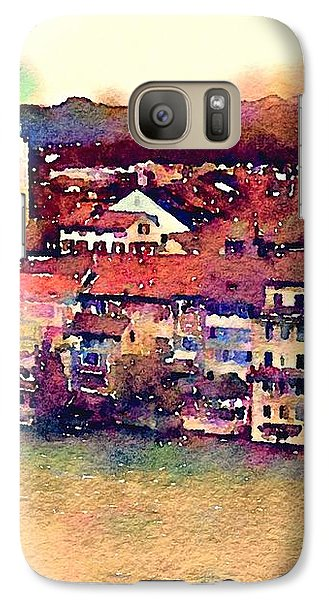Galaxy Case featuring the photograph Canal At Thurgau by Susan Maxwell Schmidt