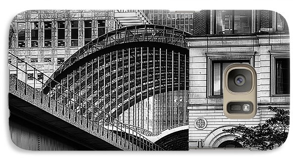 Galaxy Case featuring the photograph Canary Wharf Hssm by Jack Torcello