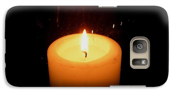 Galaxy Case featuring the photograph Candlelight Moments by Joseph Baril