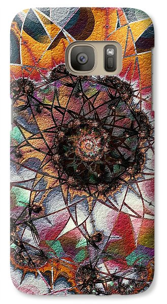 Galaxy Case featuring the digital art Candy by Kim Redd