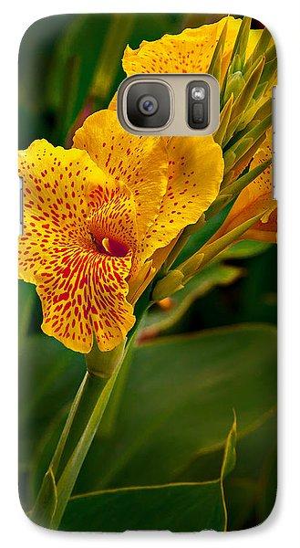 Canna Blossom Galaxy S7 Case