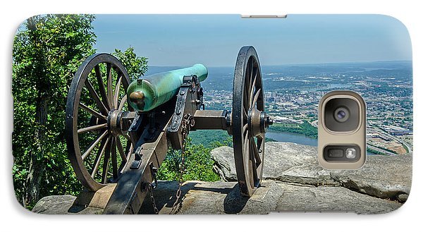 Galaxy Case featuring the photograph Cannon At Point Park by Susan  McMenamin
