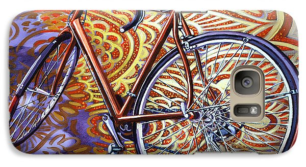 Galaxy Case featuring the painting Cannondale by Mark Howard Jones