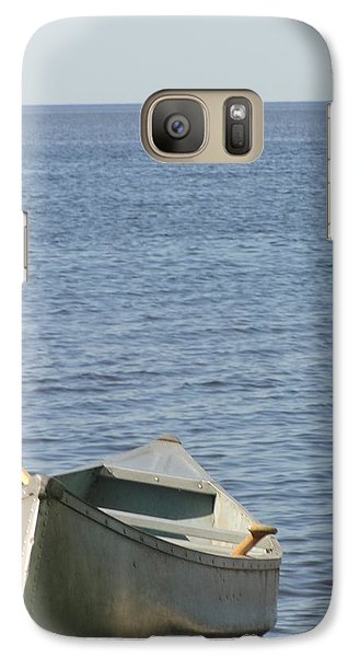 Galaxy Case featuring the photograph Canoe by Tiffany Erdman