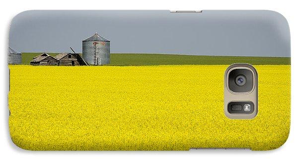 Canola Field Galaxy S7 Case