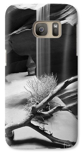 Galaxy Case featuring the photograph Canyon Sandfall by Bryan Keil