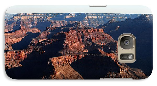 Galaxy Case featuring the photograph Canyon Sunrise by Robert  Moss