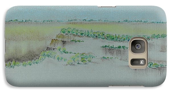 Galaxy Case featuring the pastel Canyon View by Michele Myers