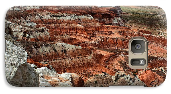Galaxy Case featuring the photograph Canyon Walls by Farol Tomson