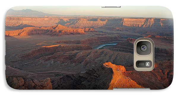 Galaxy Case featuring the photograph Canyonlands Np Dead Horse Point 21 by Jeff Brunton