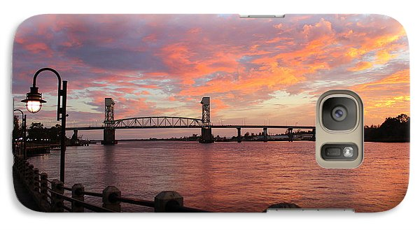 Galaxy Case featuring the photograph Cape Fear Bridge by Cynthia Guinn