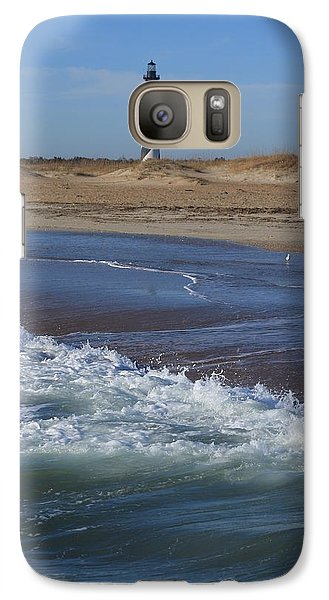 Galaxy Case featuring the photograph Cape Hatteras Lighthouse Nc by Mountains to the Sea Photo