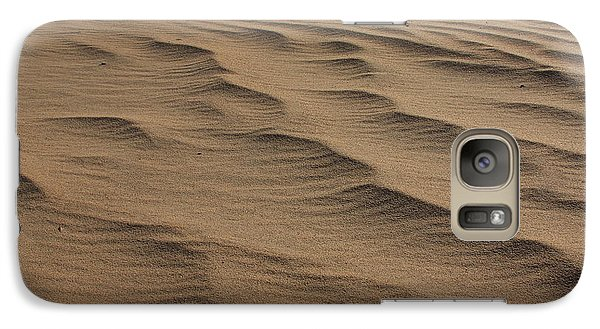Galaxy Case featuring the photograph Cape Hatteras Ripples In The Sand-north Carolina by Mountains to the Sea Photo