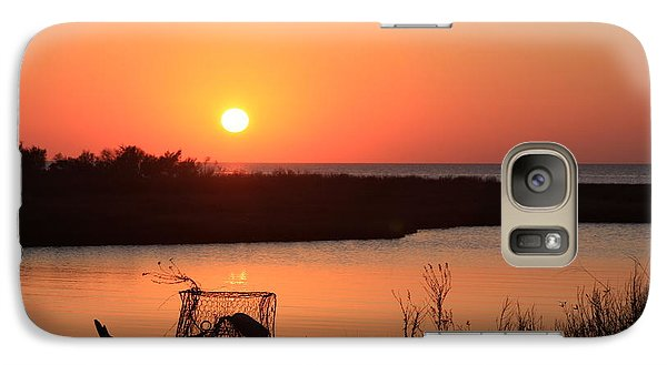 Galaxy Case featuring the photograph Cape Hatteras Sunset-north Carolina by Mountains to the Sea Photo