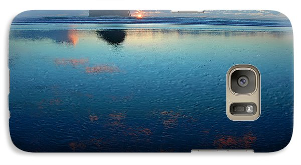 Galaxy Case featuring the photograph Cape Kiwanda Seascape by Nick  Boren