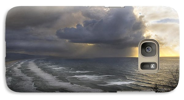 Sunset At Cape Lookout Oregon Coast Galaxy S7 Case