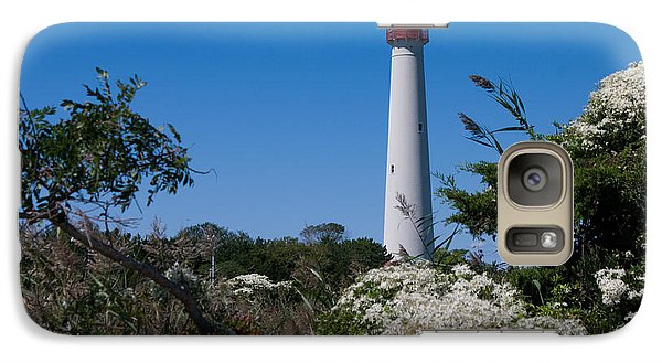 Galaxy Case featuring the photograph Cape May Lighthouse by Greg Graham