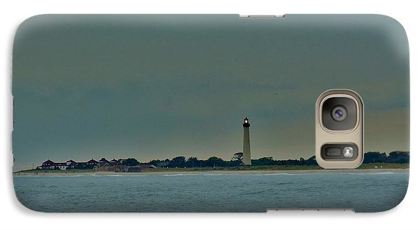 Galaxy Case featuring the photograph Cape May Point by Ed Sweeney