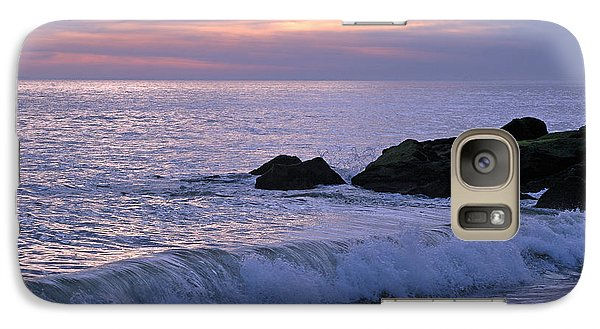 Galaxy Case featuring the photograph Cape May Sunset by Olivia Hardwicke