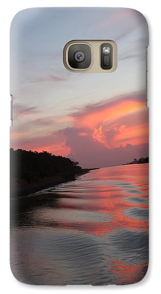 Galaxy Case featuring the photograph Cape May Twilight by Vadim Levin