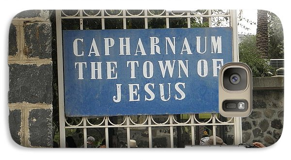 Galaxy Case featuring the photograph Capharnaum by Robin Coaker