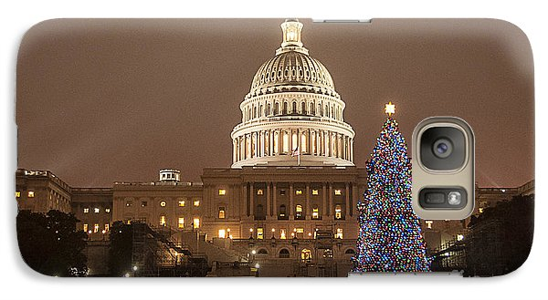 Capitol Christmas Galaxy S7 Case