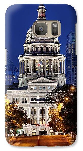 Capitol Of Texas Galaxy S7 Case by Silvio Ligutti
