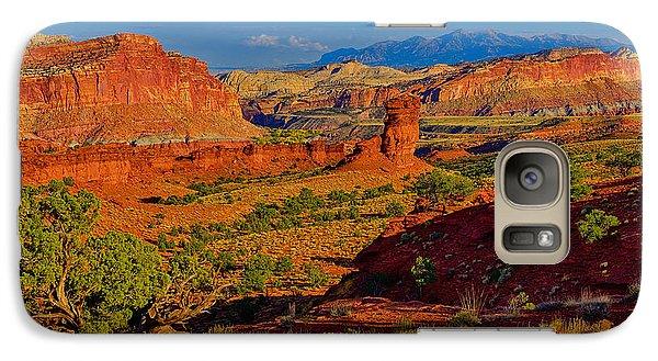 Galaxy Case featuring the photograph Capitol Reef Landscape by Greg Norrell