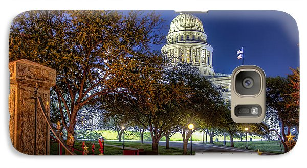 Galaxy Case featuring the photograph Capitol Stars by Tim Stanley