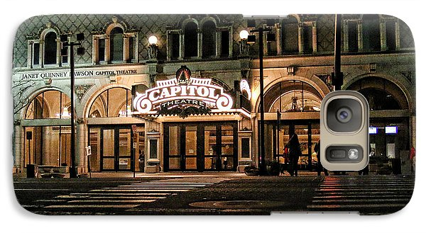 Galaxy Case featuring the photograph Capitol Theatre by Ely Arsha