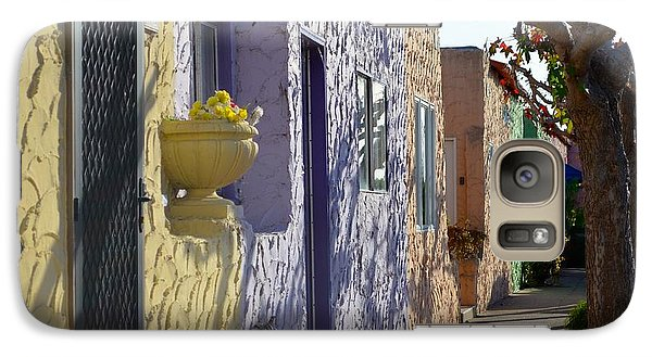 Galaxy Case featuring the photograph Capitola Beach Homes by Alex King