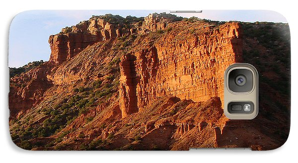 Galaxy Case featuring the photograph Caprock Canyon by Linda Cox