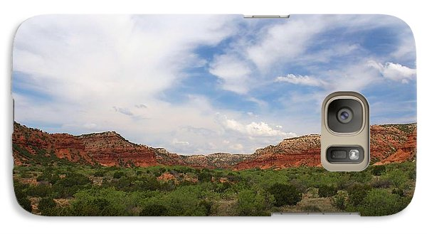 Galaxy Case featuring the photograph Caprock Canyons State Park 2 by Elizabeth Budd