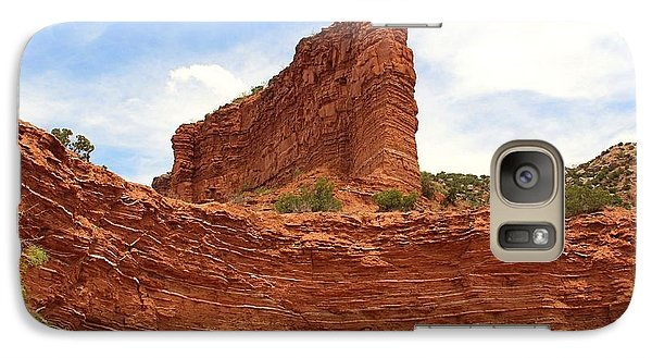 Galaxy Case featuring the photograph Caprock Canyons State Park 3 by Elizabeth Budd